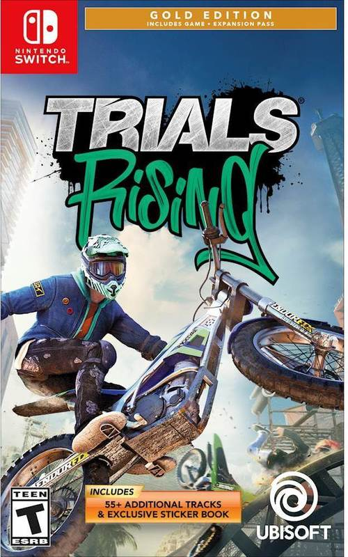 rials Rising Standard Edition – Trials Rising Gold Edition - Nintendo Switch Price Tracking 1