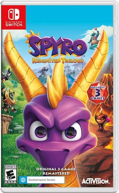 Spyro Reignited Trilogy – Nintendo Switch Price Tracking 1